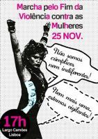 Marcha pelo Fim da Violência contra as Mulheres