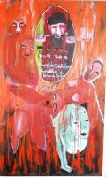 Para não esquecer o passado – Breve História Colonial em África, pinturas de Tchalê Figueira