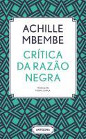 PRÉ-PUBLICAÇÃO Crítica da Razão Negra