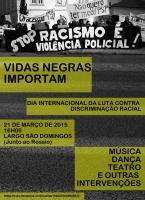 Vidas Negras Importam | Dia Internacional para a Eliminação da Discriminação Racial