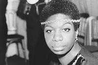 Nina Simone's face