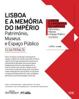 Lisbon and the Memory of the Empire: Patrimony, Museums and Public Space