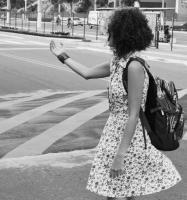 Uma negra pelas ruas de Vitória
