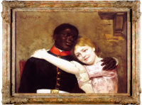 Black, between painting and history