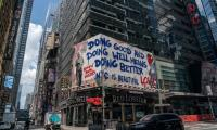 How Times Square became an unlikely hub for resistance art