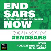 Black Lives Matter Stands in Solidarity with #ENDSARS Movement Against Police Brutality
