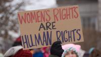"""The forgotten origins of """"Women's Rights are Human Rights"""""""