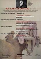 Evocação a Ruy Duarte de Carvalho em Santarém