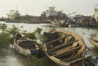 Guinea-Bissau: if a boat moored