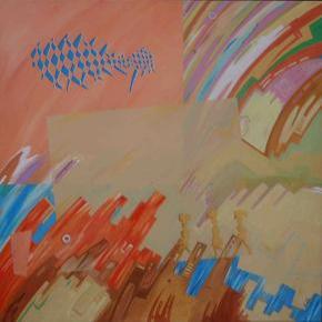 Heroínas Acrílico s/ tela 150 x 150 cm 2010